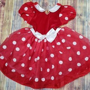 Disney Store Exclusive Mini Mouse Dress size 4/5